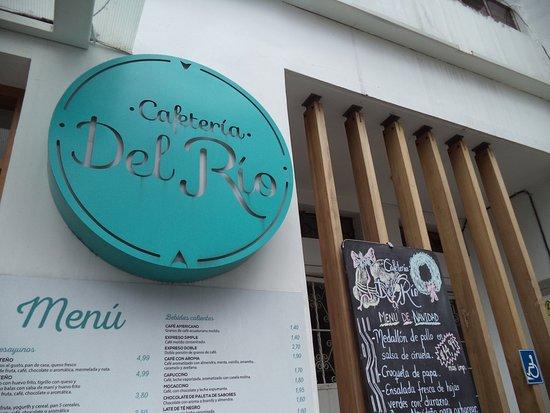 Hotel Rio Amazonas: Entrada de la Cafetería