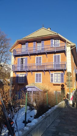 Saint-Chaffrey, France : vue hotel