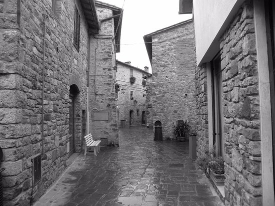San Gusme, Italia: Vicoli di San Gusmè (Italia)
