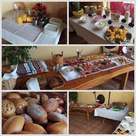 Stegen, Γερμανία: Frühstücksbuffet vom 29. Januar 2017