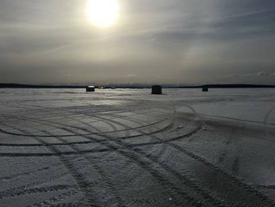 Algoma, WI: January Ice Fishing