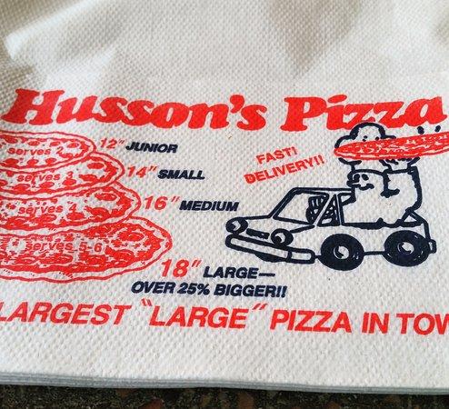 Τσάρλεστον, Δυτική Βιρτζίνια: Husson's Pizza