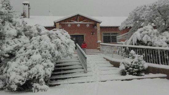 Castalla, España: Nevada Enero 2017