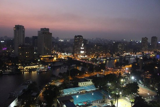 Sofitel Cairo El Gezirah: Vista da suite