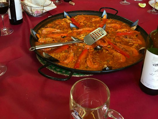 Isla Plana, Spanien: Paella