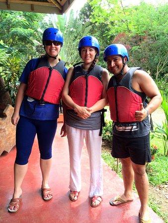 Tenorio Volcano National Park, Costa Rica: Tubbing