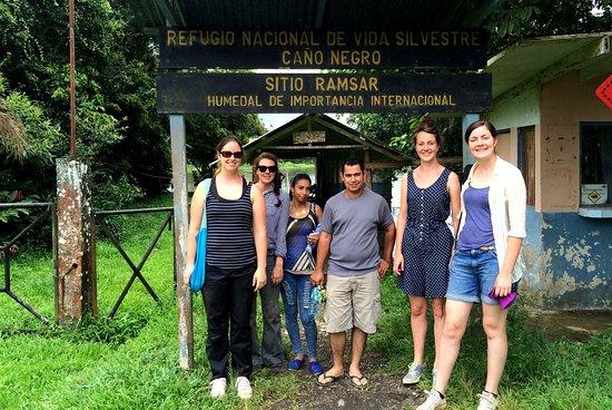 Национальный парк Вулкан Тенорио, Коста-Рика: Caño Negro wild Life Refuge