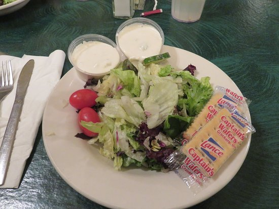 Vonore, TN: Side salad with dinner