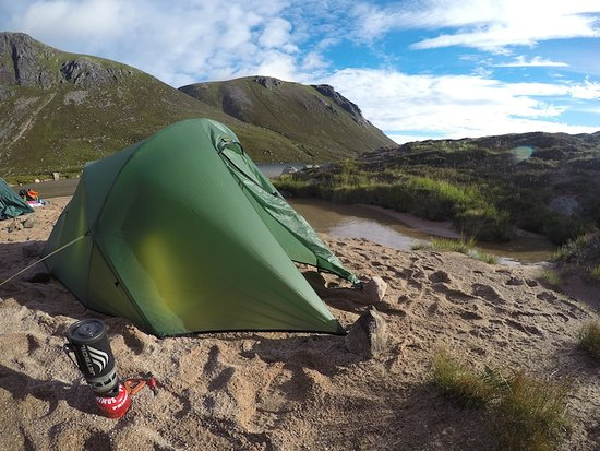 Wild Camping in Scotland - Picture of TeamWalking ...