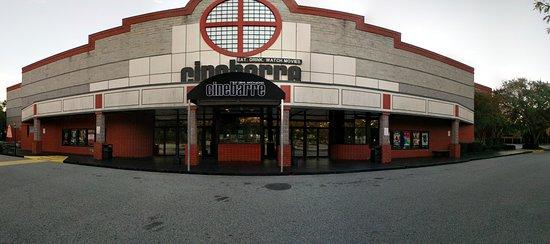 Cinebarre Mount Pleasant Stadium 11: exterior day