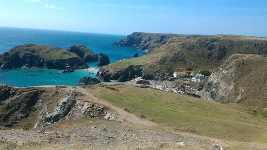 The Lizard and Kynance Cove: The view of The Lizard point