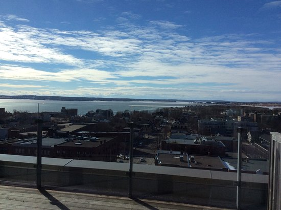 The Holman Grand Hotel: Penthouse view of Charlottetown