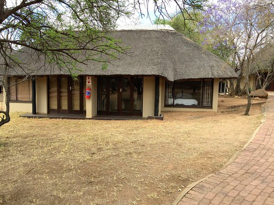 Mabula Game Lodge: this building had 2 rooms