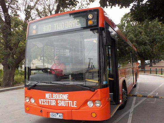 Melbourne Visitor Shuttle: My shuttle bus