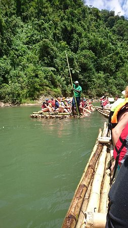 Rivers Fiji - Day Adventures: bamboo rafting