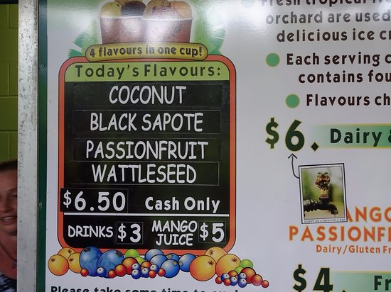 Diwan, Australia: Flavors of the day