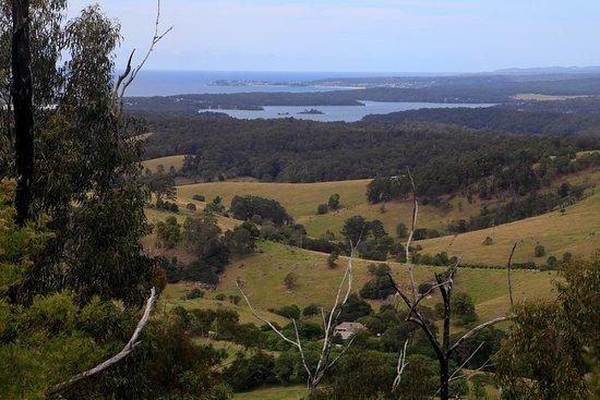 Central Tilba, Australia: View from Mt Dromedary / Gulaga hike
