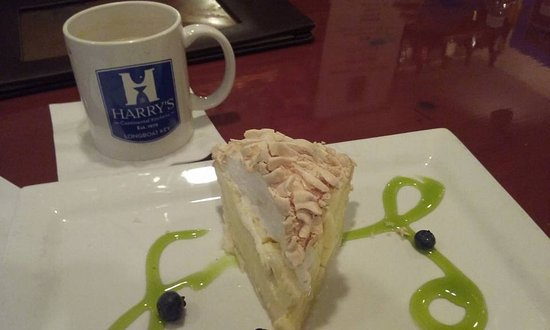 Harry's Continental Kitchens : Key Lime Pie topped with Meringue