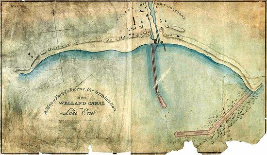 Port Colborne Map 1837