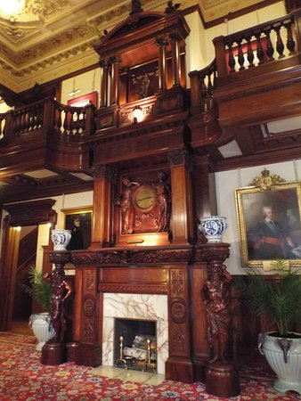 American Swedish Institute: One of the many fireplaces in the mansion