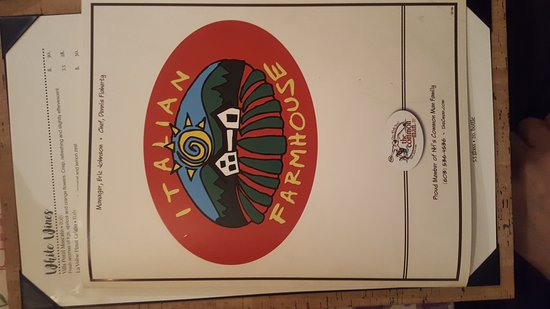 Plymouth, NH: The Italian Farmhouse Restaurant