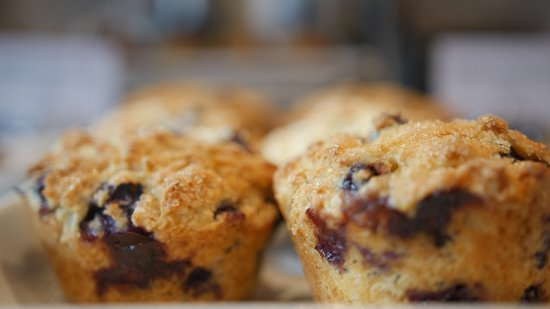 Plainfield, NJ: Blueberrie muffins make for a happy mornig.