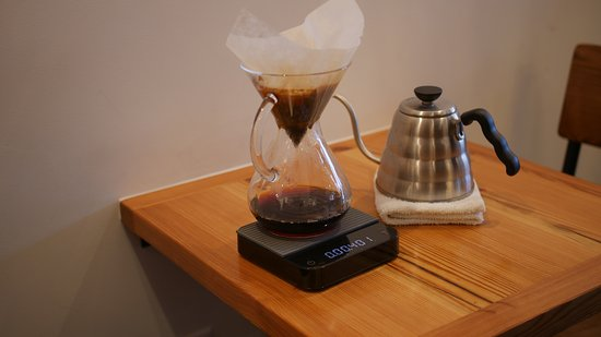 Plainfield, NJ: Want something special?  Try a pour over coffee.