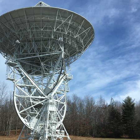 Rosman, NC: One of several optical and radio telescopes on site.