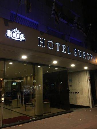 Hotel Europa: Fachada do hotel
