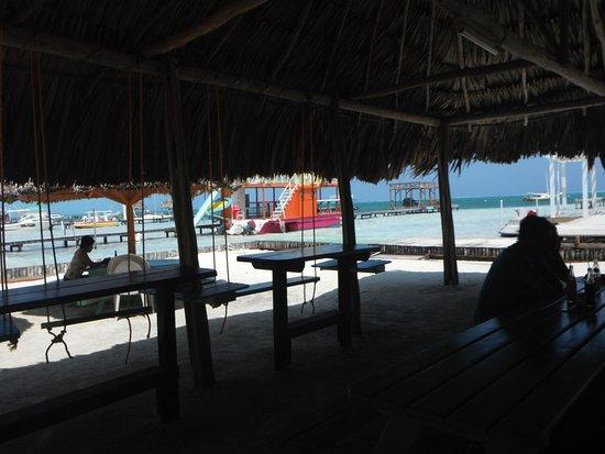 Sobre Las Olas: Watching the party boat
