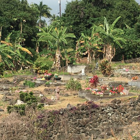 Honaunau, ฮาวาย: cemetery