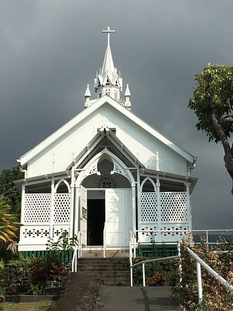 Honaunau, Havai: the church