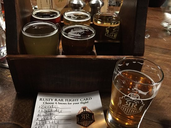 Mifflinburg, Pensilvania: Flight of Beer