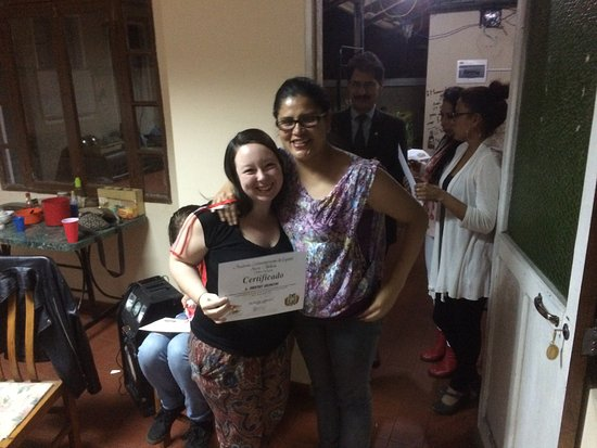 Academia Latinoamericana de Espanol : Example of an Award Ceremony after Completion of Classes