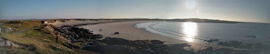 Roundstone, Ireland: Lovely sunset.