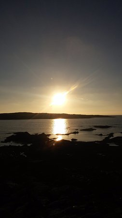 Roundstone, Ireland: When the sun goes down.