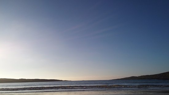 Roundstone, Ireland: Sea & sky in one colour.