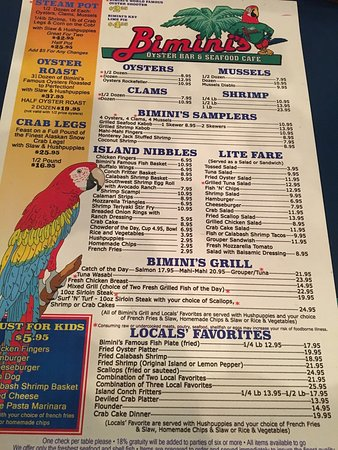 Bimini's Oyster Bar and Seafood Cafe: photo2.jpg