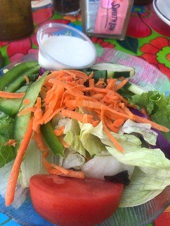 Goodland, FL: Side salad