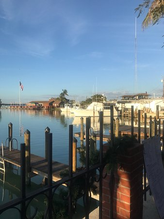 Goodland, FL: Outdoor seating and view