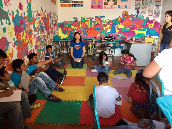 Small Change 4 Big Change: Participating in the English classes