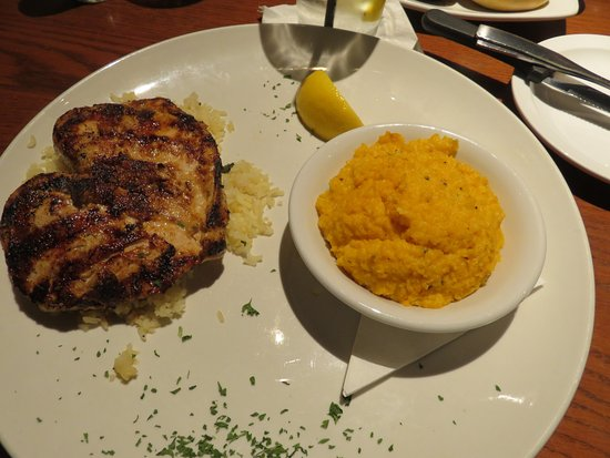 Maryville, TN: Lemon Chicken over Lime Cilantro Rice with Jalapeno Cheese Grits