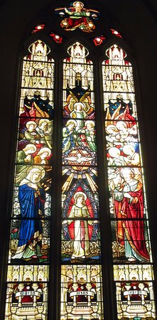 St Michael's Cathedral Basilica : Stained glass window