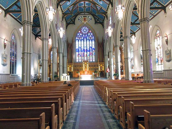 St Michael's Cathedral Basilica : Facing the high altar