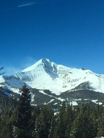 Driving up to Big Sky!
