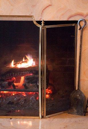 Huntly, VA: Fireplace, Hunt Room