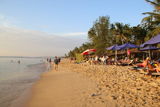 Phu Quoc Kim Bungalows On The Beach: Kim's Beach