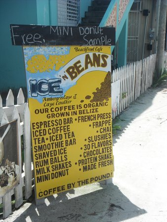 Ice and Beans Coffee Shop : Free-Mini-Donuts