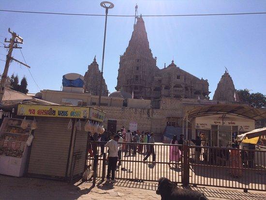 dwarka temple picture of dwarkadhish temple dwarka