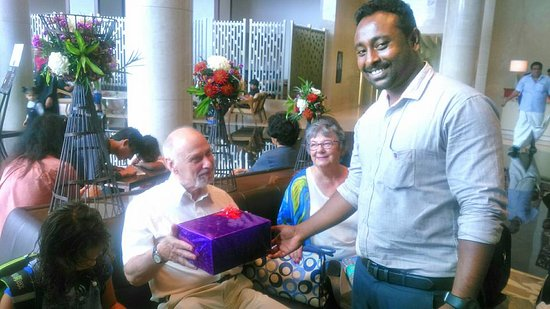 Keralayathra Tours And Travels Gerald Mortimer Birthday Gift From Kerala Yathra Family